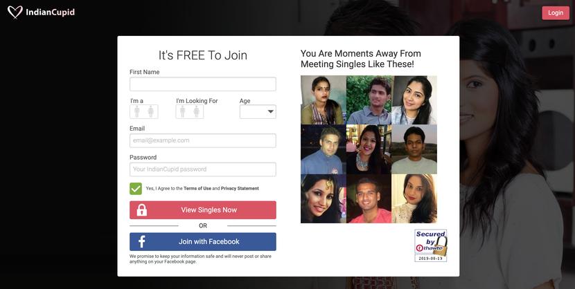 IndianCupid Dating Site