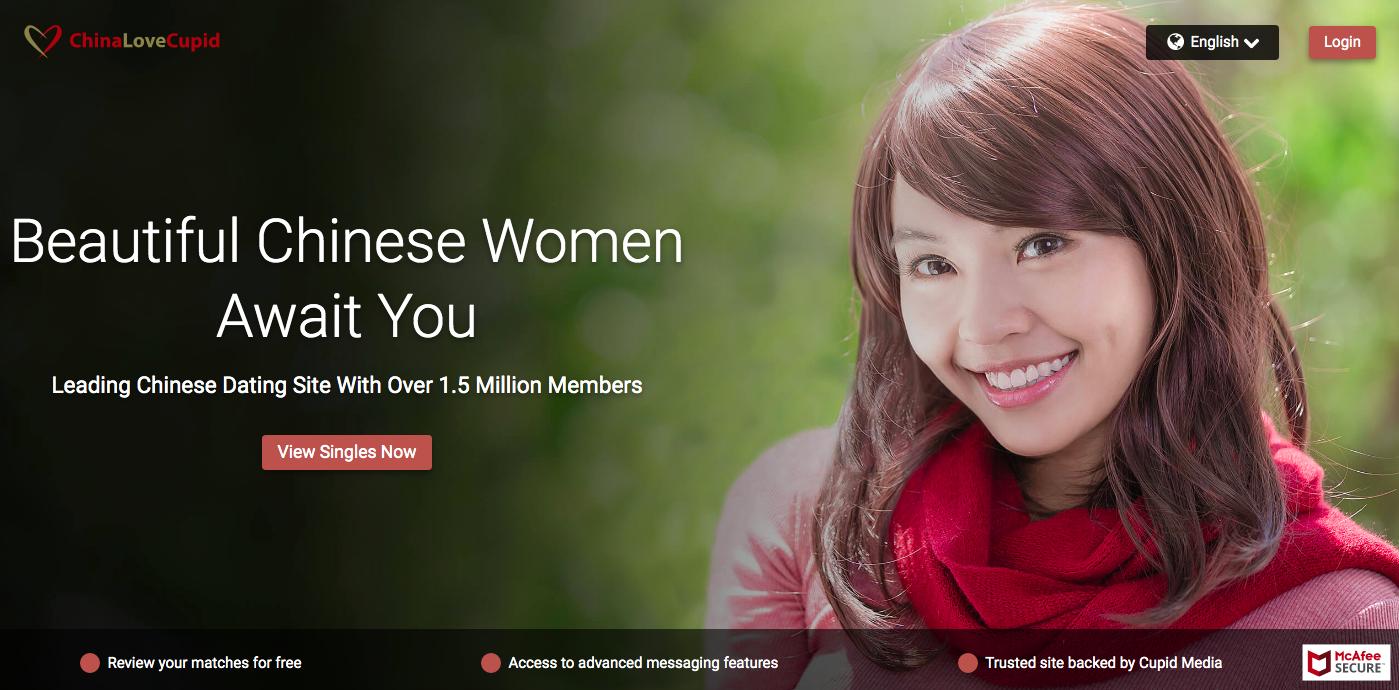 ChinaLoveCupid main page