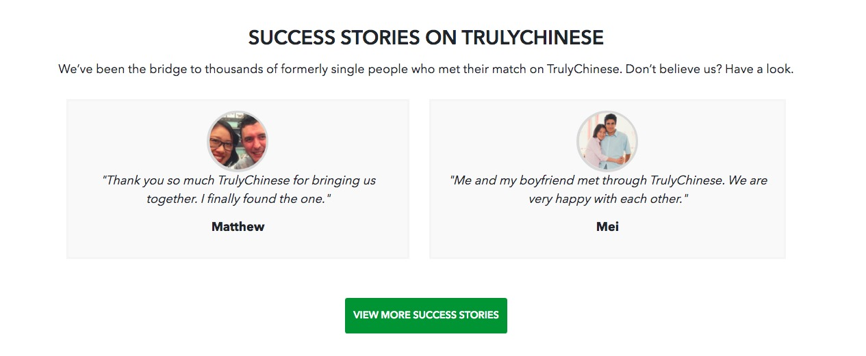 TrulyChinese love stories