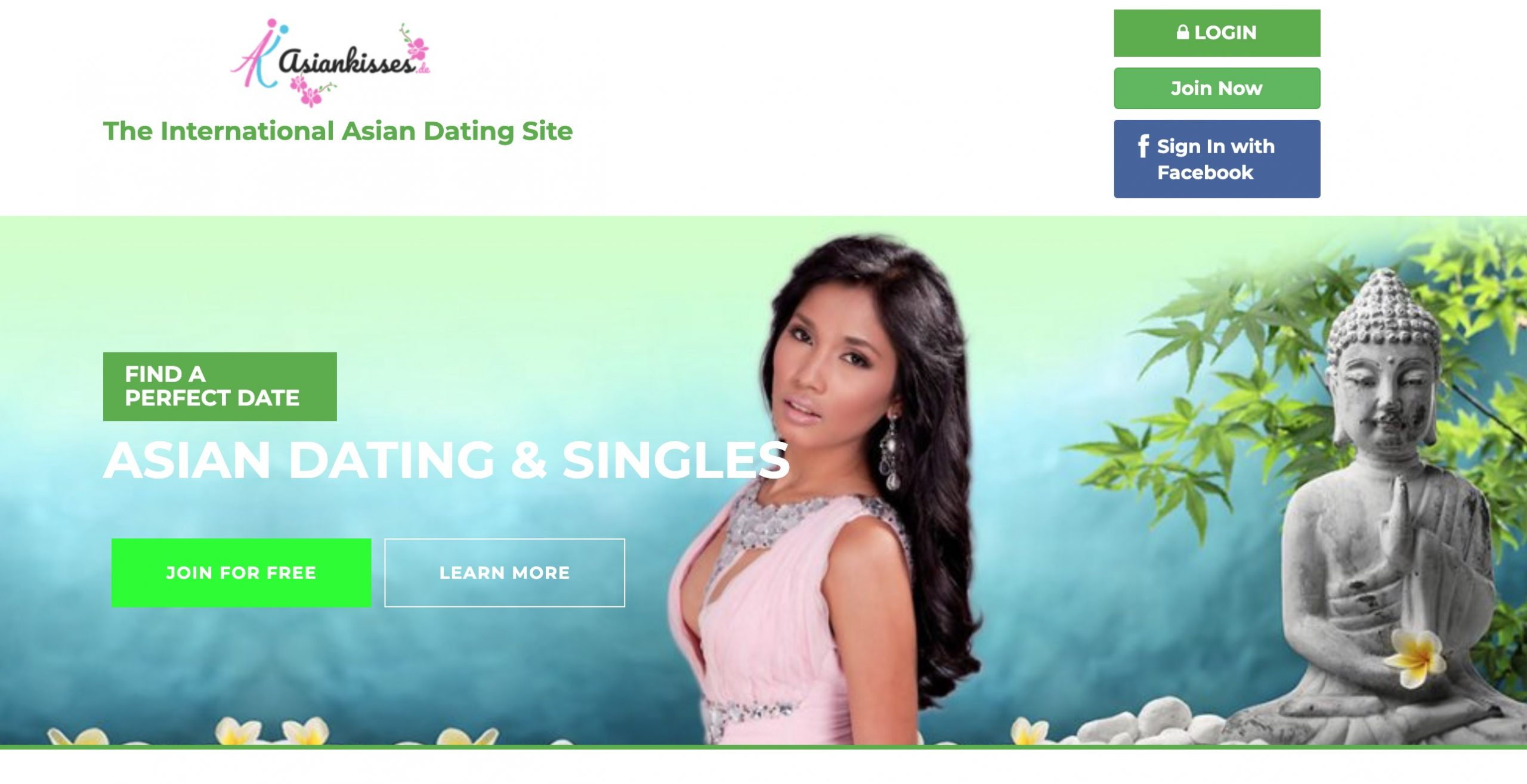 AsianKisses main page