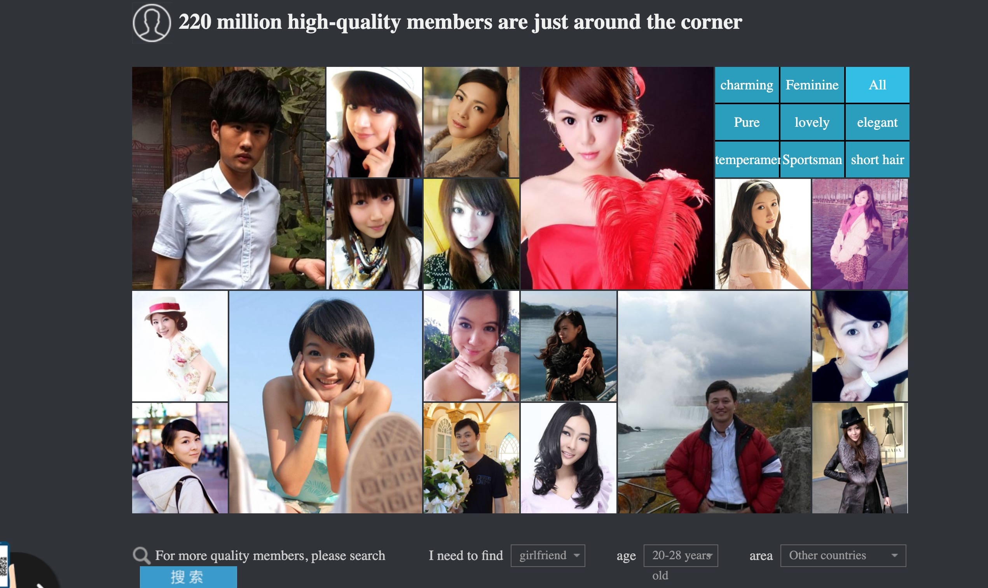 Jiayuan members